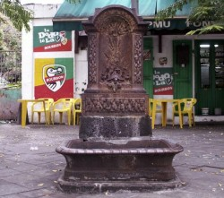 Fontaine de la tortue – Saint-Denis de la Réunion