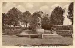 Fontaine de l''Enfant au masque (fondue) – Aubervilliers