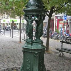 Fontaine Wallace –  Place du Général-Beuret – Paris (75015)