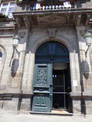 Panneaux de porte – Hôtel de ville – Billom