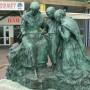 Monument aux docteurs Perrochaud et Cazin (groupe) - Esplanade Parmentier - Berck-Plage - Image1