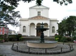 Fontaine de la cathédrale  – Saint-Denis de la Réunion