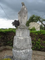 Statue de la vierge – Monthoiron