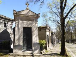 Portes de chapelles sépulcrales – Division 96 (3) – Cimetière du Père Lachaise – Paris (75020)