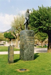 Statue de Voltaire – Saint-Claude