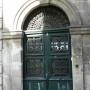 Panneaux de porte et imposte – 29 rue Joubert – Auxerre - Image1