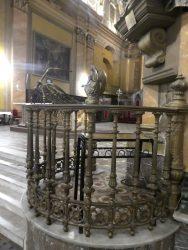 Anges adorateurs et balustrades – Iglesia catedral – Córdoba
