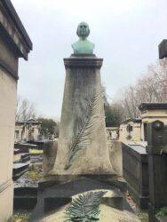 Buste de Jules Baillarger – Cimetière de Montparnasse – Paris (75014)