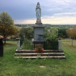 Vierge et christ en croix : Belmont