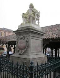 Monument à Fermat (copie) – Beaumont de Lomagne