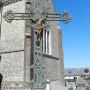 Croix monumentale et fonte funéraire - Cimetière - Ypreville-Biville - Image1