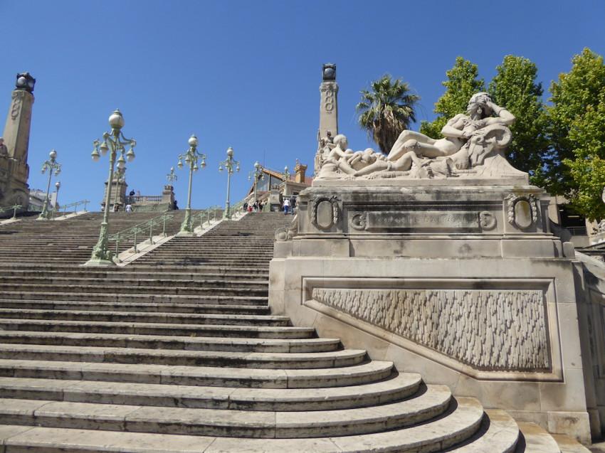 Escalier de la gare saint charles marseille for Piscine saint charles