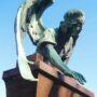 Ange de la sépulture de Fabi - Cimetière de Montparnasse - Paris (75014) - Image3