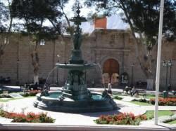 Pileta ornemental – Grande fontaine – Moquegua