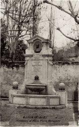 Buste du monument à Pierre Baragnon (fondu) – Cassis