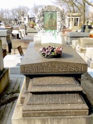 Tombe de la famille Fleisch – Cimetière du Père-Lachaise – Paris (75020)