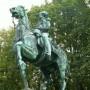 Statue équestre de Ferdinand-Philippe, Duc d'Orléans  - parc du Château d' Eu - Image2