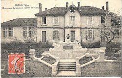 Monument à Joseph Pochon (Fondu) – Marboz