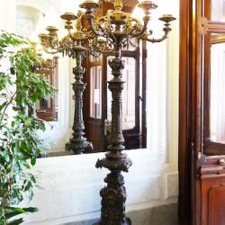 Candélabre pour 7 lumières – Valrose – Nice