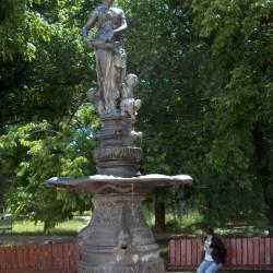 Fontaine – fantana arteziana – Parcul Central – Salonta