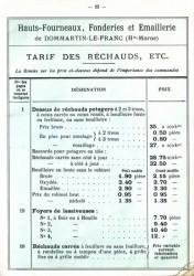 DOM_1899_PL23 – Tarif