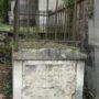 Entourages de tombes, croix et corbeille - Division 18 - Cimetière du Père Lachaise - Paris (75020) - Image1