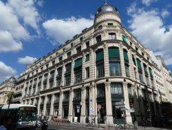 Mascarons et rosaces de l'immeuble Saint frères – Rue du Louvre – Paris (75001)