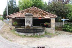 Fontaine-lavoir – La Rouille