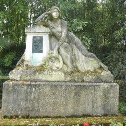 Monument à Louis Vorovy-Zborowski – Parc de Tessé – Le Mans