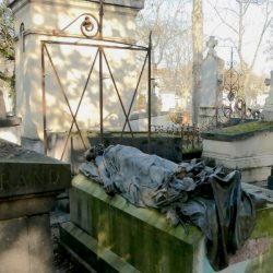 Sépulture d'Auguste Blanqui – Cimetière du Père-Lachaise – Paris (75020)