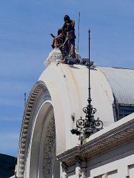 Allégorie à la corne d'abondance – Pavillon Martinez de Hoz – La Rural – Buenos Aires