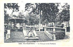 Fontaine  de l'Enfant au Dauphin (Fondu) – Vic Fezensac