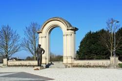 Statue du Général Dwight David Eisenhower – Bayeux