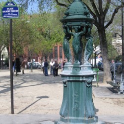 Fontaine Wallace –  Place Gilbert-Perroy – (75014)