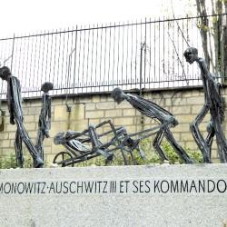 Monument de Buna-Monowitz-Auschwitz III et ses Kommandos – Cimetière du Père Lachaise – Paris (75020)