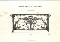 GUI_PL02 – Grands balcons ou balustres