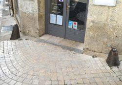 Chasse-roues de la rue des Trois-Notre-Dame – Angoulême