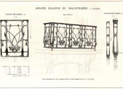 GUI_PL10_A – Grands  balcons ou balustres