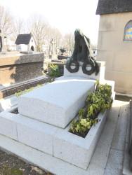 Tombe de la famille Desplanches – Cimetière du Père-Lachaise – Paris (75020)