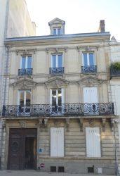 Balcons et panneaux de porte – Avenue du Général Leclerc – Le Mans