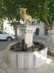 Fontaine du lion  – Vidauban