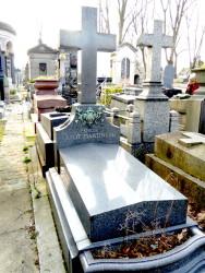 Tombe de la famille Guiot – Martineau – Cimetière du Père-Lachaise – Paris (75020)