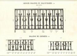GUI_PL09 – Grands balcons ou balustres