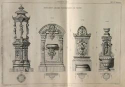 DUR_F_PL385 – Fontaines à boire et fontaines de cours