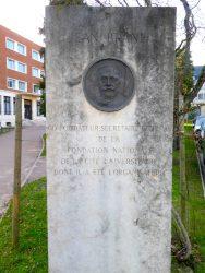 Monument à Jean Branet – Cité internationale universitaire – Paris (75014)