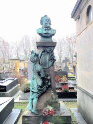 Monument à Gustave Jundt – Cimetière de Montparnasse – Paris (75014)