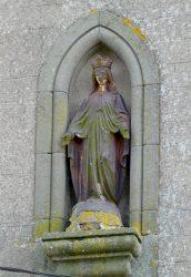 Vierge Immaculée – Église Nativité-Notre-Dame – Lez – Laguépie