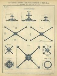 TU_DUCH_1896_PL464 – Couronnements d'entourage, croisillons, rosace, couronne