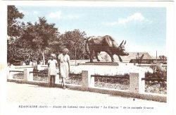 Monument au Taureau « le Clairon » (Fondu) – Beaucaire