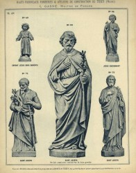 TU_DUCH_1896_PL470_AN – Statues religieuses